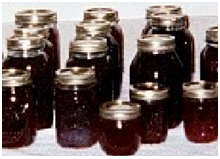 jelly making jars