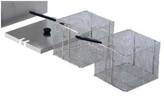 HomCom deep fryer baskets