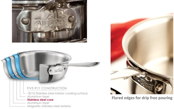 All-Clad Stainless Steel Cookware