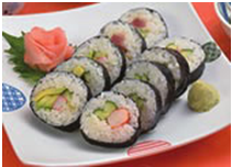 Sushi with Rice cooker