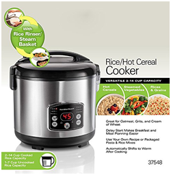 Rice hot cereal cooker