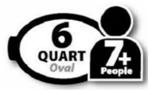 6 quart oval