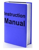 Manual instructions