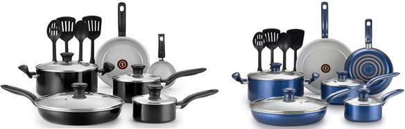 T-fal Ceramic Nonstick Cookware
